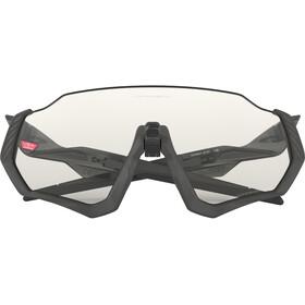 Oakley Flight Jacket Gafas de sol, grey ink/clear black iridium photo activated